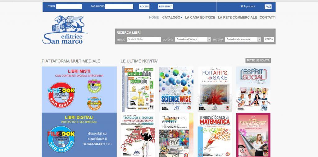 Sito Web Editrice San Marco - Joomla