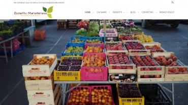 Página Web Empresa Agrícola